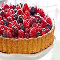 Tarte aux fruits rouges, 4 parts, 665g
