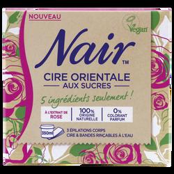 Cire orientale aux sucres NAIR, pot de 350ml