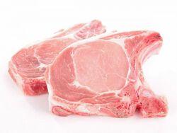 Côtes de porc échine x2, 300g