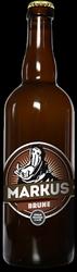 Bière MARKUS Brune 6.2° 75cl