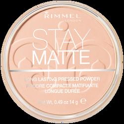 Poudre matifiante stay matte 002 pink blossom RIMMEL NU, 14g