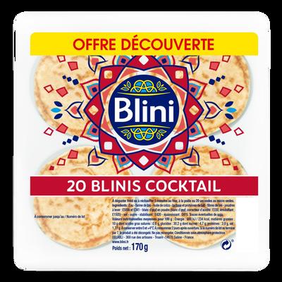 Cocktail BLINI, x20 soit 170g