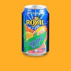 Jus cocktail tropical, ROYAL, le pack de 6x33cl