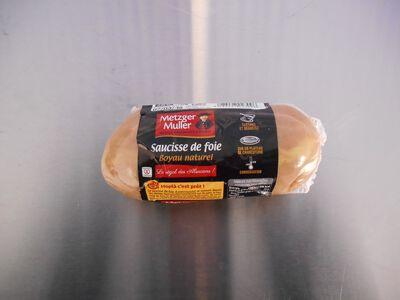 Saucisse de foie boyau naturel 350g