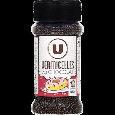 Vermicelles chocolat U, flacon de 60g
