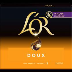 Café Moulu L'OR Doux  - Lot de 2x250g