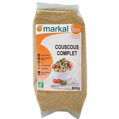 Couscous complet BIO, MARKAL, le paquet de 500g