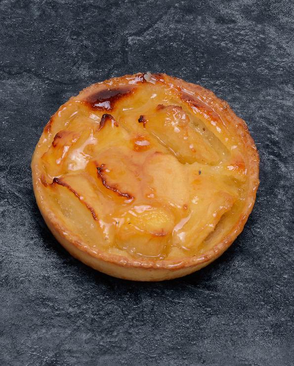 Tartelette pomme normande, décongelée, 2 pièces, 170g