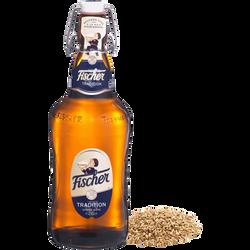 Bière tradition FISCHER, 6°, 65cl