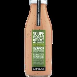 Soupe velouté 5 légumes/ciboulette, bouteille, 500ml