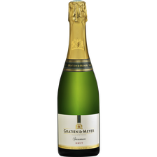 Saumur AOC brut blanc, GRATIEN & MEYER, bouteille de 75cl