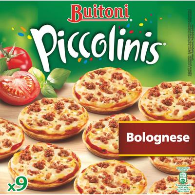 Piccolinis à la bolognaise BUITONI, x9 soit 270g