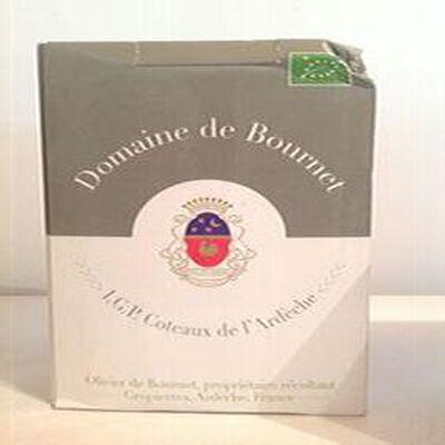 Domaine de Bournet - IGP Coteaux de l'Ardèche BIO 5L