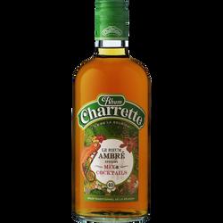 Rhum ambré spécial mix et cocktail CHARETTE, 40°, 70cl