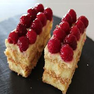 MILLE FEUILLES FRAMBOISES X2