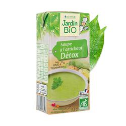 Soupe à l'artichaut détox JARDIN BIO 33cl