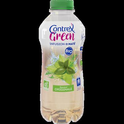 Eau minérale naturelle green bio infusion de maté saveur original bioCONTREX, 75cl