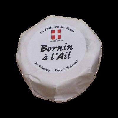 Bornin au lait cru à l'ail, 22% de MG, 200g