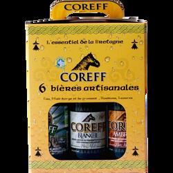 Coffret bière La COREFF des saisons 5,6° 6x33cl