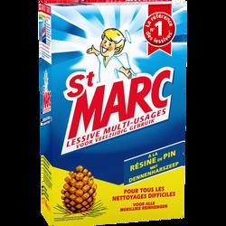 Lessive en poudre à la résine de pin ST MARC, 1,6kg
