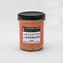 LES RILLETTES DE SAUMON - LE GRAND LEJON