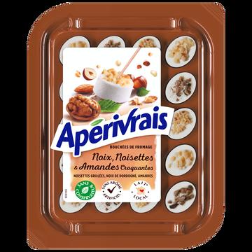 Apérivrais Aperivrais Pasteurisé Noix/noisette/amande 29,5%mg 100g