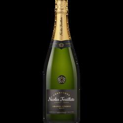 Champagne brut  Grande Réserve NICOLAS FEUILLATTE, bouteille de 1,5l