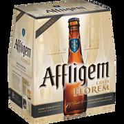 Affligem Bière Blonde Cuvée Florem Affligem, 6,7°, 6 Bouteilles De 25cl
