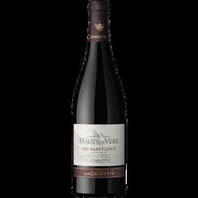Vin rouge AOP Pic Saint Loup Les Hauts de Vère, bouteille de 75cl