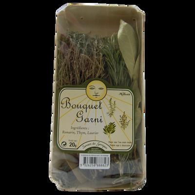 Bouquet garni (thym,laurier,romarin), France, barquette 20g