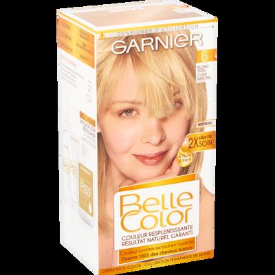 Coloration permanente blond très clair n°6 BELLE COLOR