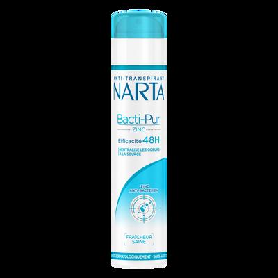 Déodorant Bactipur NARTA, atomiseur de 200ml
