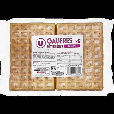 Gaufres pâtissières au sucre, 260g