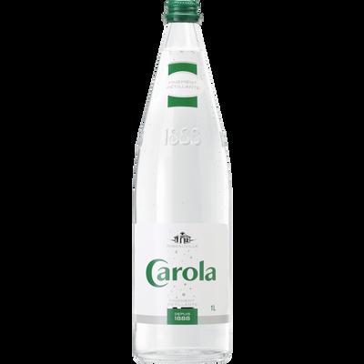 Eau de source naturelle CAROLA Verte, 1l