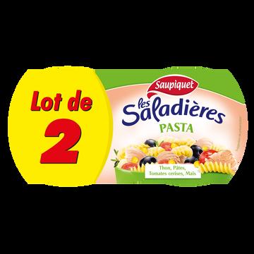 Saupiquet Saladières Snacking Pasta Saupiquet, 2x220g Soit 440g