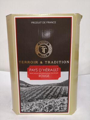IGP Pays D'hérault - Terroir et Tradition - BIB 5L