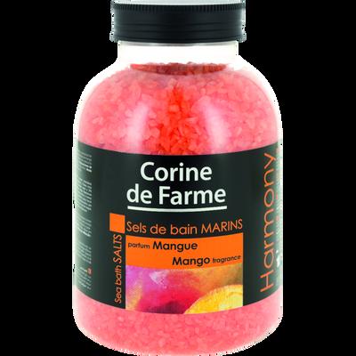 Sels de bain parfum mangue Harmony CORINE DE FARME, 1,3kg