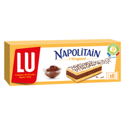 Napolitain individuel classic LU, x6 soit 180g