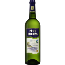 Vin de pays charentais IGP blanc, Père Fouras, bouteille de 75cl