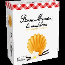 Madeleine vanille intense BONNE MAMAN, 240g