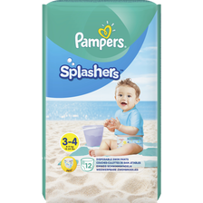 Couches splashers T3 PAMPERS, x12