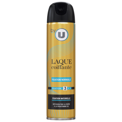 Laque fixation normale BY U atomiseur 300ml