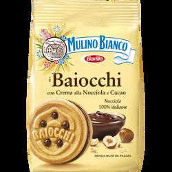 Biscuits Baiocchi Nocciola MULINO BIANCO, paquet de 260g