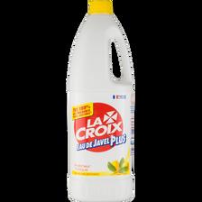 Eau de javel fraîcheur tonique LACROIX plus, bidon 1,50 litre