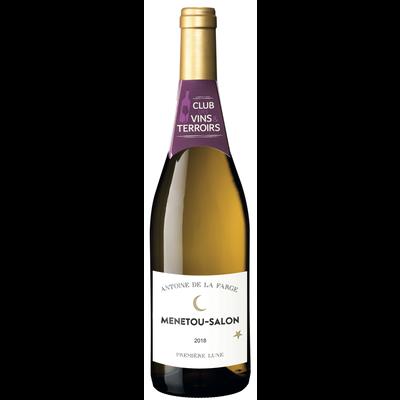 Vin blanc AOP CVT Menetou Salon Première Lune ANTOINE DE LA FARGE, 75cl