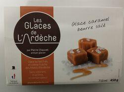 Glace caramel au beurre salé GLACES DE L'ARDECHE 450g