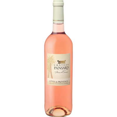 """Vin rosé AOP Côtes de Provence """"Château Pansard"""""""