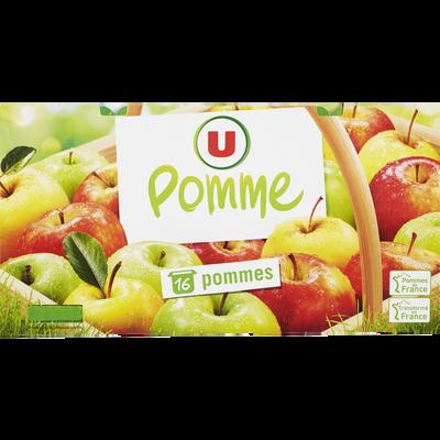 Dessert de fruits aux pommes U, 16x100g
