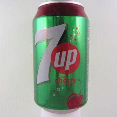 Soda goût cerise SEVEN UP, 33cl
