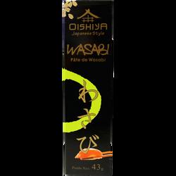 Pâte de wasabi OISHIYA, tube de 43g